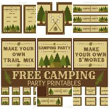 backyard campout birthday party backyard birthdays and camping