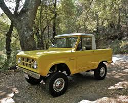 1966 ford bronco half cab pickup 4x4 u0027s pinterest ford bronco