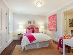 teen bedroom with mirrored nightstands transitional u0027s room