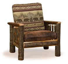 Rustic Livingroom Furniture by Rustic Hickory And Oak