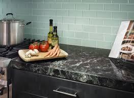 Recycled Glass Backsplash Tile by Modern Kitchen Designed With Recycled Glass Backsplash And Single