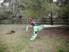 velociraptor costume velociraptor dinosaur animatronic puppet costume in progress