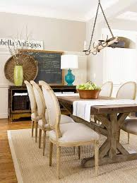 BHG Centsational Style - Rugs for dining room