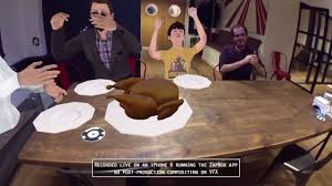 thanksgiving app happy thanksgiving and a mixed reality turkey youtube