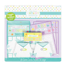 baby shower game kit 6 pkg amscan international