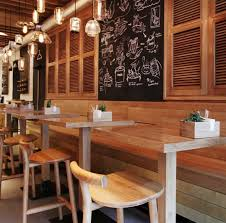 Fast Casual Restaurant Interior Design This Restaurant In Kiev Is Keeping It Casual And Natural