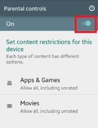 how to put parental controls on android phone how to setup parental controls android phone