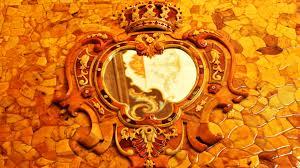 chambre ambre la réplique taille ré du cabinet d ambre de le grand à