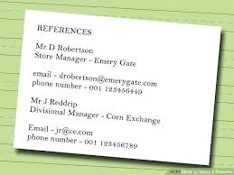 How To Make A Resume For A Teenager First Job by 7 Ways To Make A Resume Wikihow