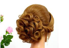hairstyles for wedding bridal hairstyle for hair tutorial curly updo for wedding