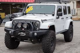 jeep wrangler white 4 door lifted free shipping on aev dualsport rs 3 5