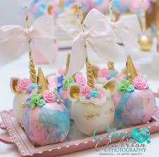 cookies from a burgundy u0026 blush unicorn baby shower on kara u0027s
