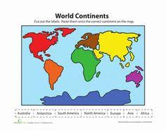 continent kids free printables world geography bilingual