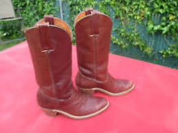 s frye boots size 9 s frye size 9 d 2350 brown cowboy boots ebay