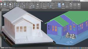 How To Make A Building Plan In Autocad by 3d Printing A Scale Model With Autocad