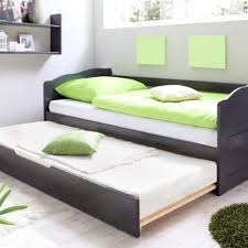 fabulous black full size bygland daybed by ikea with trundle