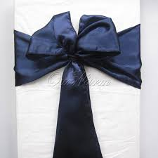 navy blue chair sashes navy blue satin chair sashes europe chair cover sash for wedding