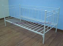 foxy julian bowen versailles 3ft single stone white metal day bed