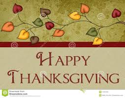 photo of happy thanksgiving happy thanksgiving leaves card stock photos image 11681343