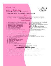 Sample Hair Stylist Resume Interesting Hairdressing Resume Template Also Senior Hair Stylist