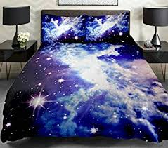 amazon com anlye galaxy duvet cover galaxy teen bedding galaxy