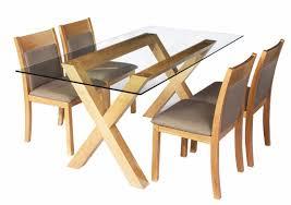 Table Salle A Manger Verre Design chaise de salle a manger confortable et design hellin