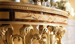 demilune console table from our exclusive empire collection