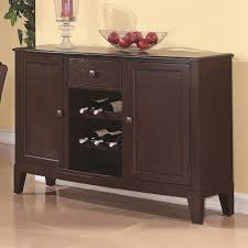 memphis cappuccino wood buffet table steal a sofa furniture
