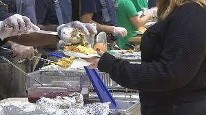 springfield boys club holds community thanksgiving dinner