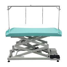Pet Grooming Table by Pet Grooming Table Ft 823 833 Plastic Top Electric Lifting Shernbao