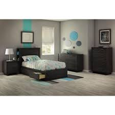 Bedroom Set In Salt Oak South Shore Fynn 5 Drawer Gray Oak Chest 3237035 The Home Depot