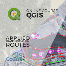 gis class online qgis course route analysis finding the shortest path gis