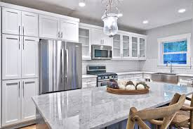 white and gray kitchen ideas gray and white kitchen craftsman kitchen by