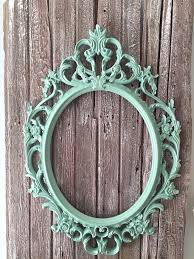 Large Shabby Chic Frame by Oval Baroque Frame Baby Shower Gift Shabby Chic Ornate