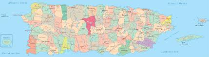 Map Of Puerto Rico Beaches by Map Of Puerto Rico San Juan
