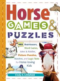 horse games u0026 puzzles 102 brainteasers word games jokes