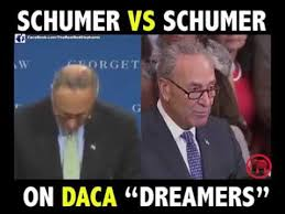 the 2 faces of schumer on daca youtube