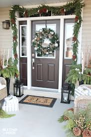 Outdoor Christmas Decor Photos by Holiday Cheer Outdoor Christmas Decorations Setting For Four