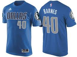 Harrison Barnes Shirt Mavericks 40 Harrison Barnes Blue Road T Shirt