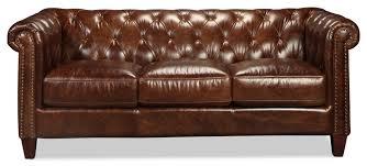 Leather Sofa Natalia Leather Sofa Cigar Levin Furniture