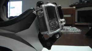 motocross helmet camera easy gopro chin bar mount how to moto related motocross