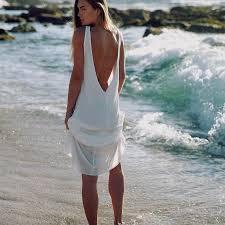 casual white beach dress naf dresses
