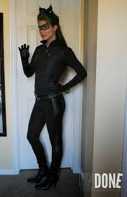 Catwoman Halloween Costumes Girls Undone Diy Catwoman Costume Daily Diaries