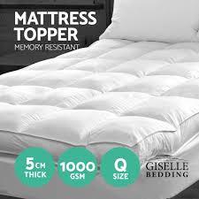 Queen Mattress Topper Pillow Top Queen Mattress Topper Pillow Decoration