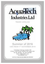 aquatech catalog summer 2016 by aquatech issuu
