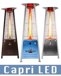Patio Flame Heater by Lhi101 106 Capri Outdoor Patio Heaters Outdoor Flame Patio