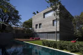 casa cubo backyard modern home design homes interior designs