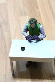 new 1 6 scales accessory batman clown joker scene chair table