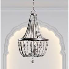 sonoma natural beaded black 8 light chandelier free shipping
