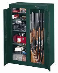 gun security cabinet reviews amazon com stack on gcdg 9216 16 gun convertible double door steel